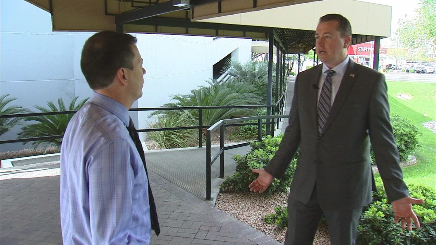 AZ Treasurer Jeff Dewit defends Donald Trump (Source: KPHO/KTVK)