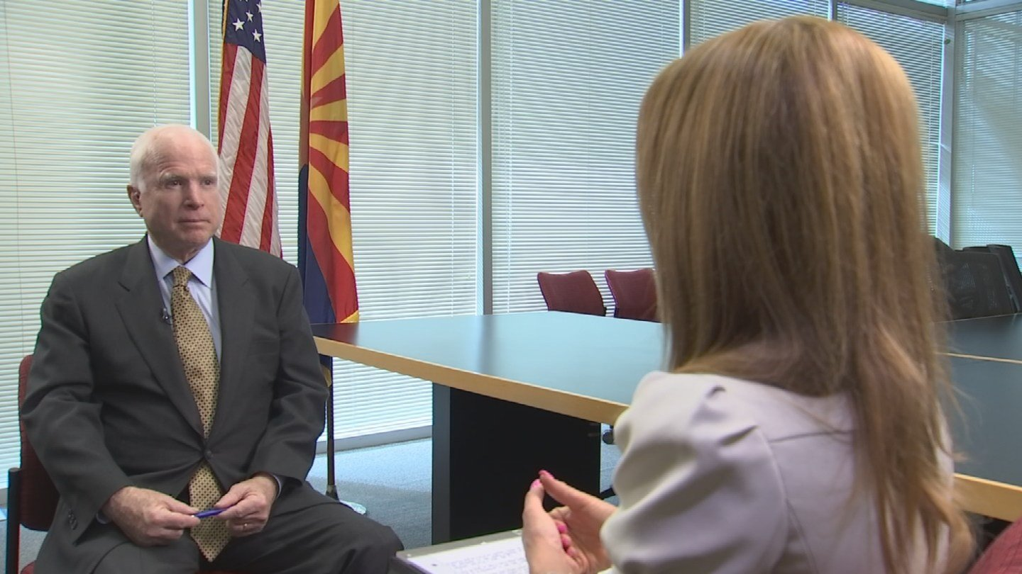 Sen. John McCain talks exclusively with Ashleigh Barry about the Phoenix VA problems (Source: KPHO/KTVK)