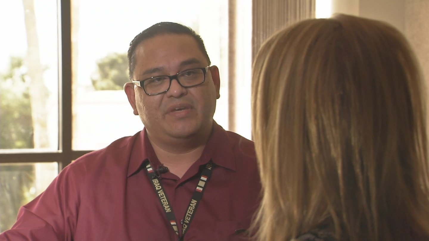Kuauhtemoc Rodriguez claims dead veterans are canceling appointments at the Phoenix VA (Source: KPHO/KTVK)