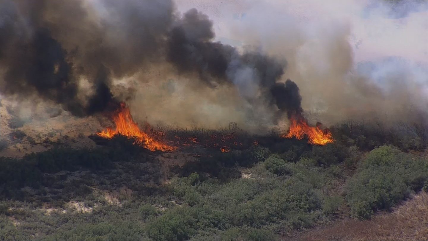 Topock Fire (Source: KPHO/KTVK)