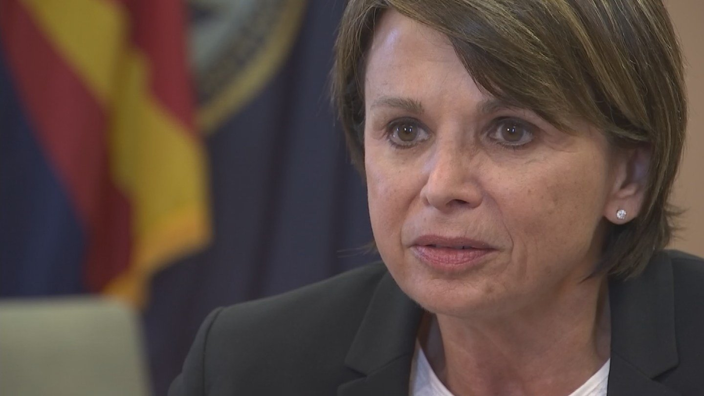 Deborah Amdur took over as medical director of the Phoenix VA in December 2015. (Source: KPHO/KTVK)