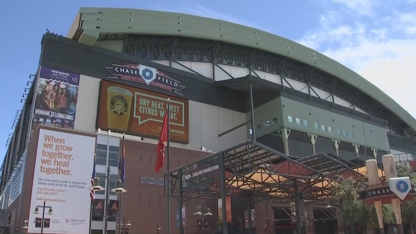 Chase Field is one of the oldest MLB parks. It opened in 1998. (Source: KPHO/KTVK)