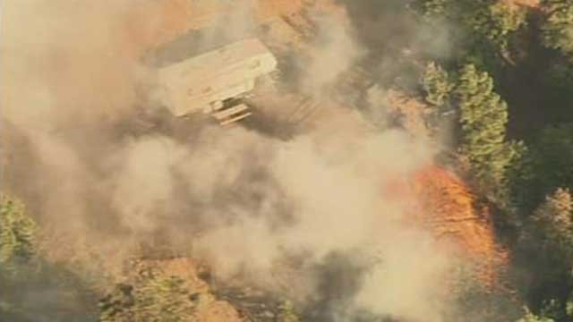 State officials say southeastern Arizona and parts of northern Arizona are at the highest risk for wildfires. (Source: KPHO/KTVK)