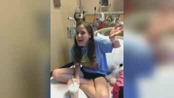 Hailey Miller was granted her wish to go to Italy by Make-A-Wish Arizona (Source: KPHO/KTVK)