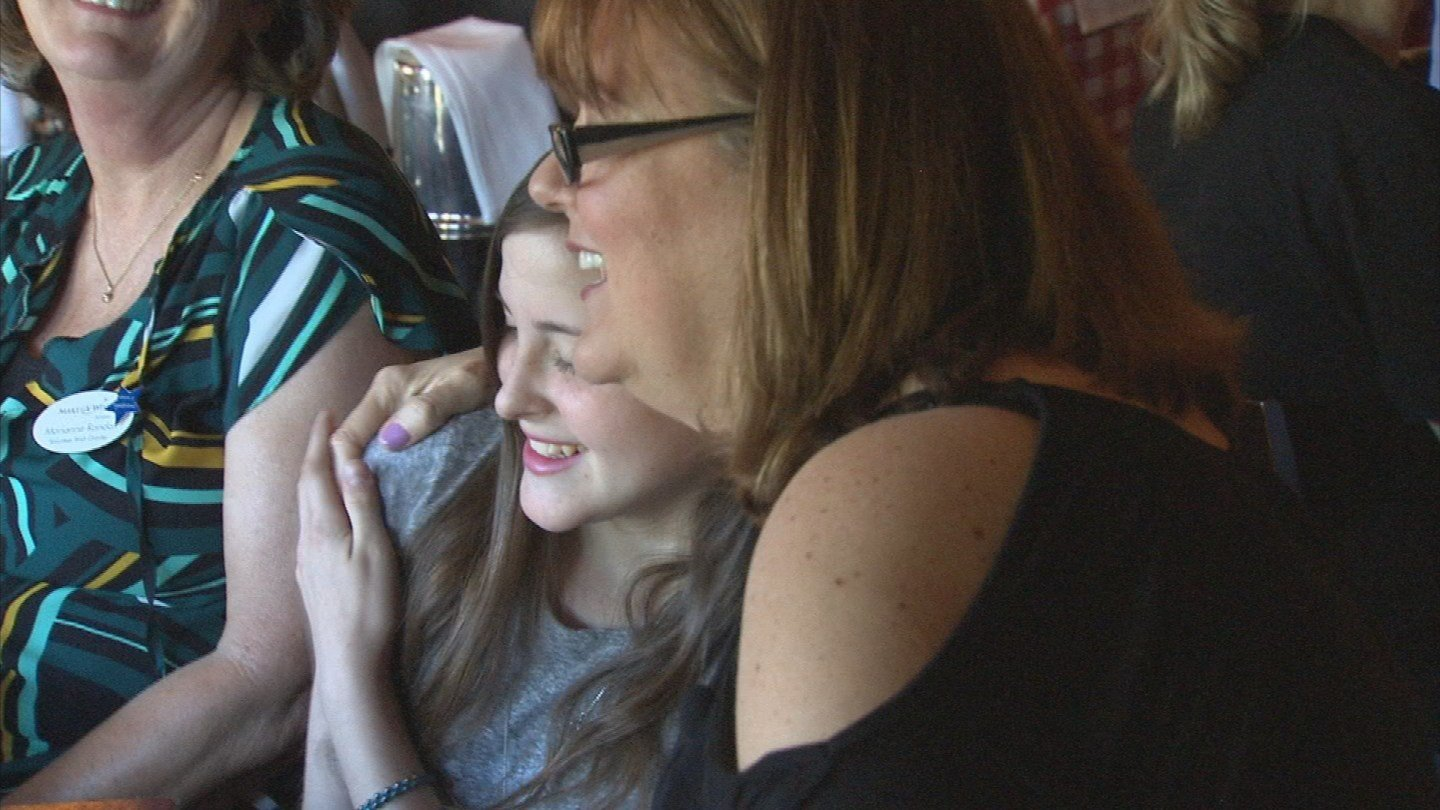 Make-A-Wish Arizona unveiled the details of the trip to Hailey on Monday (Source: KPHO/KTVK)