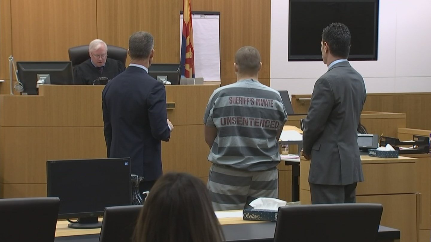 Leslie Merritt Jr. had his bail dropped to $0 during a court hearing Tuesday (Source: KPHO/KTVK)
