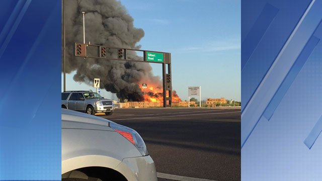 Cause sought in Arizona fire that injured 2 firefighters