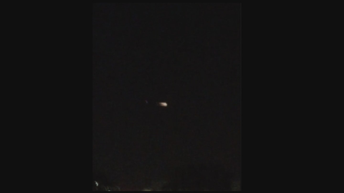 Mysterious light was spotted in the sky Saturday night (Source: KPHO/KTVK)
