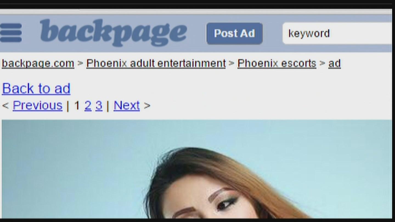 Investigators say advertised a Thai escort service on backpage.com (Source: KPHO/KTVK)