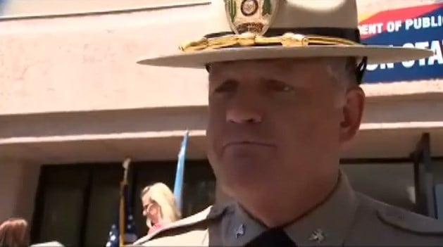 Arizona DPS Director Col. Frank Milstead. (Source: KPHO/KTVK)