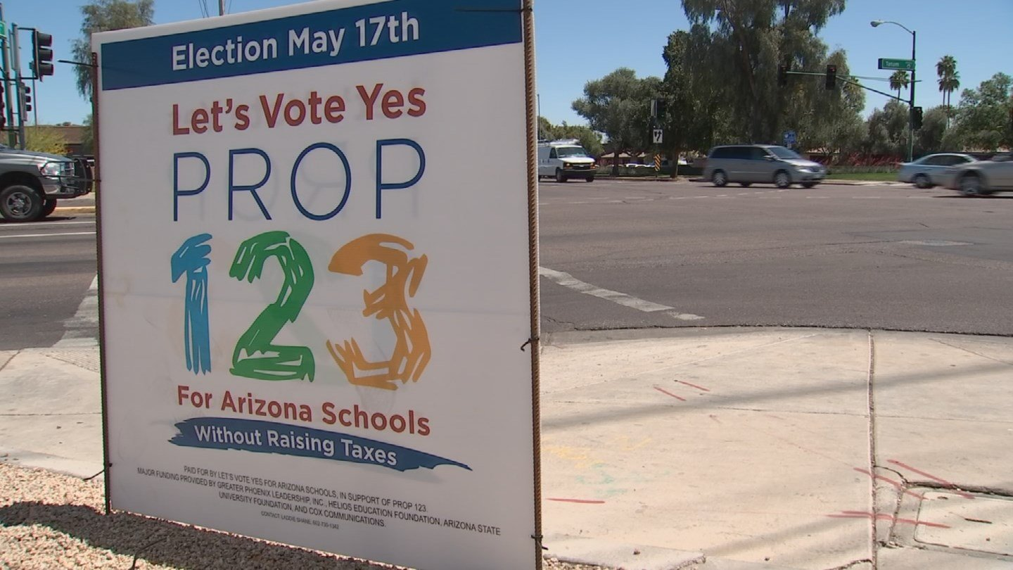 Despite support, there are still a lot of questions surrounding Prop. 123 (Source: KPHO/KTVK)