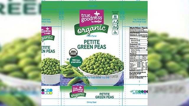 Ohio officials also isolated listeria from CRF-produced packages of True Goodness by Meijer brand frozen organic white sweet cut corn and frozen organic petite green peas. (Source: FDA and CRF Frozen Foods)