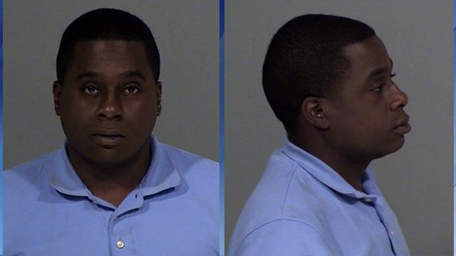 Jonathan Lowe was arrested on Monday after he was accused of defecating in the front yard of a Goodyear, AZ home. (Source: Goodyear Police Dept.)