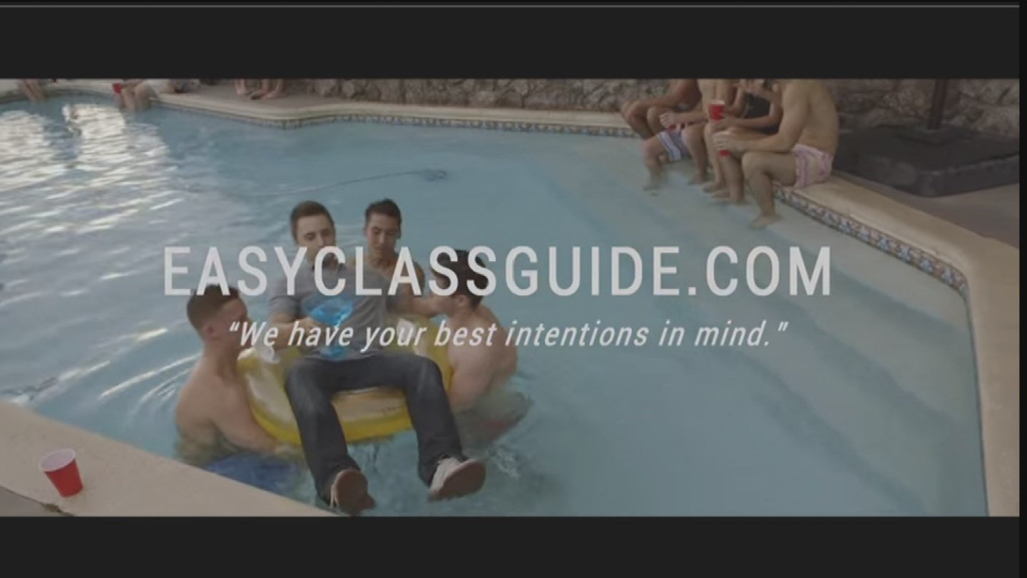Some students take college seriously, but for those tired of hitting the books, enter EasyClassGuide.com. (Source: KPHO/KTVK)
