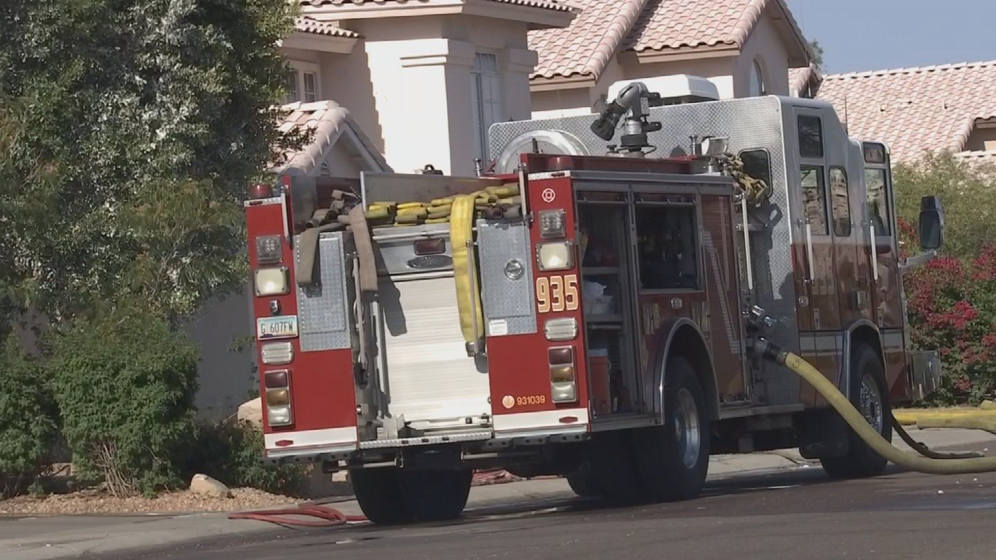 It's unclear how many times the man was stung. (Source: KPHO/KTVK)