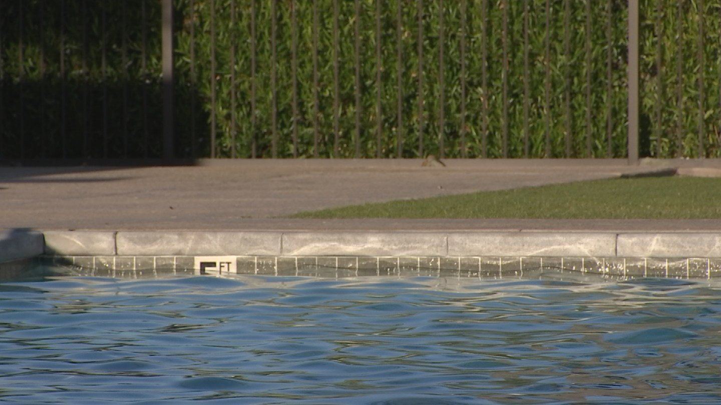 A two-year-old was found in a community pool in Peoria (Source: KPHO/KTVK)