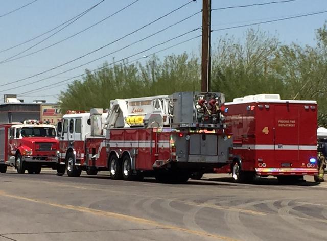 Hazardous materials situation at 24th Ave. & McDowell (Source: KPHO/KTVK)