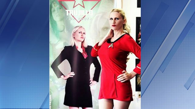 Cara Nicole Trujillo, a 'cosplayer,' is running for AZ State House (Source: Facebook)