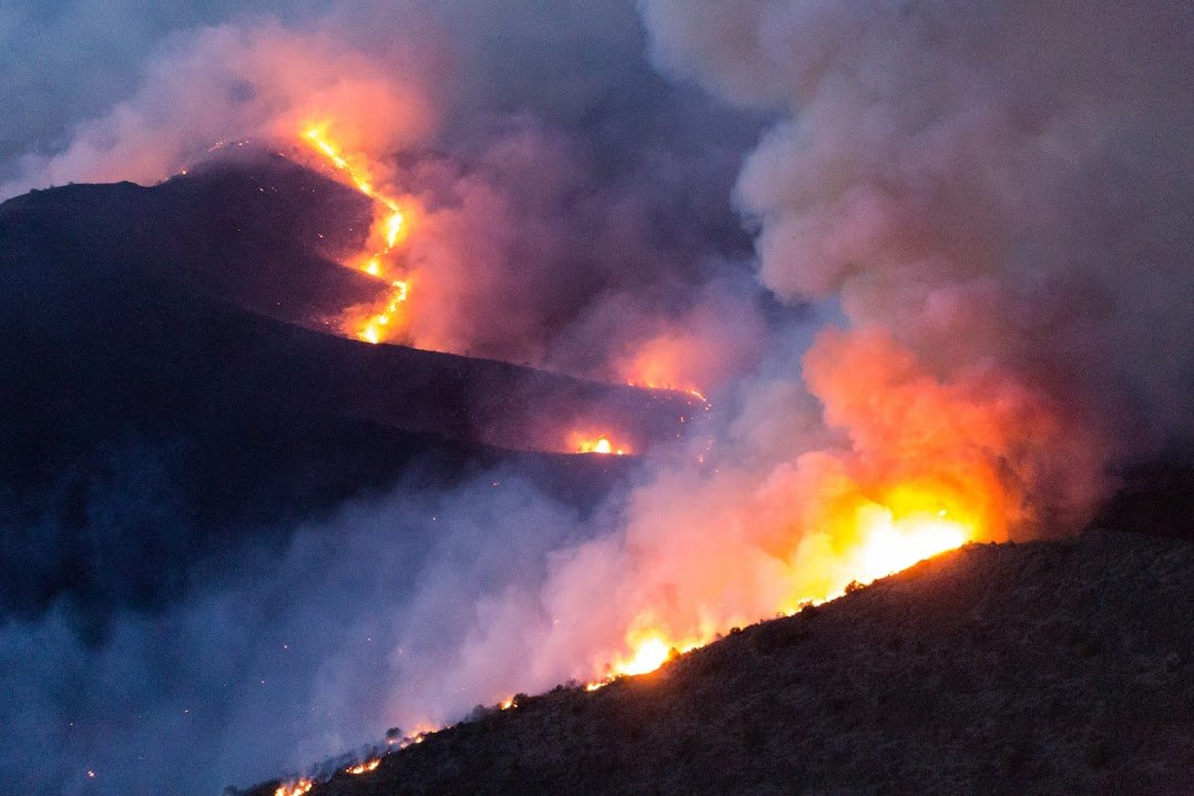 Tenderfoot Fire Thursday, June 9 (Source: KPHO/KTVK)