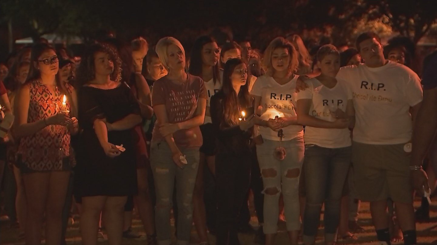 A candlelight vigil was held in Mesa in honor of the 19-year-old who was killed in the Orlando massacre. (Source: KPHO/KTVK)