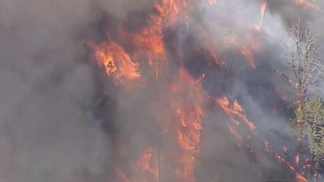 Cedar Fire (Source: KPHO/KTVK)