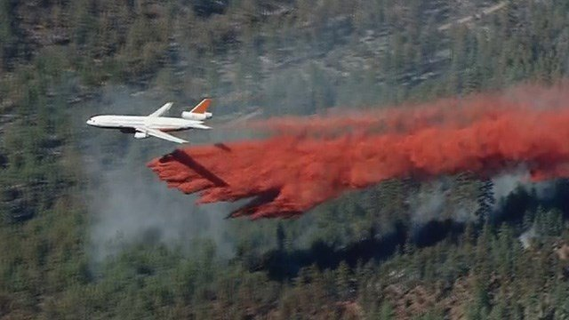 Beaver Creek Fire Expands to 7000 Acres, One Firefighter Injured