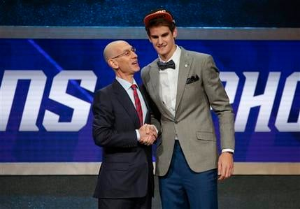 Dragan Bender was selected fourth overall by the Phoenix Suns in the NBA Draft. (Source: AP Photo/Frank Franklin II)