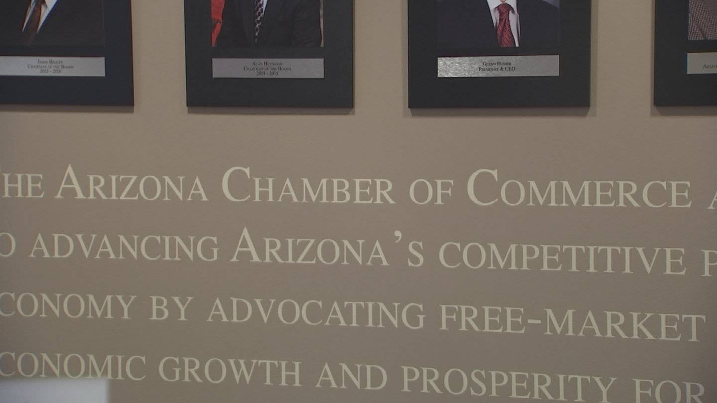 The Arizona Chamber of Commerce opposes the ballot initiative. (Source: KPHO/KTVK)