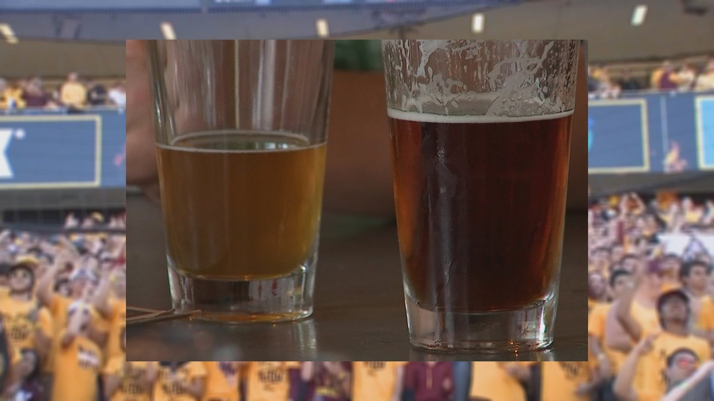 ASU said it's going over the idea of selling beer at Sun Devil Stadium. (Source: KPHO/KTVK)