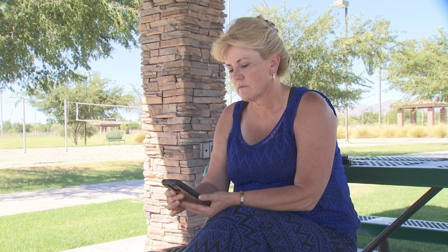 Warner says she wouldn't have found the boy if it wasn't for the app. (Source: KPHO/KTVK)