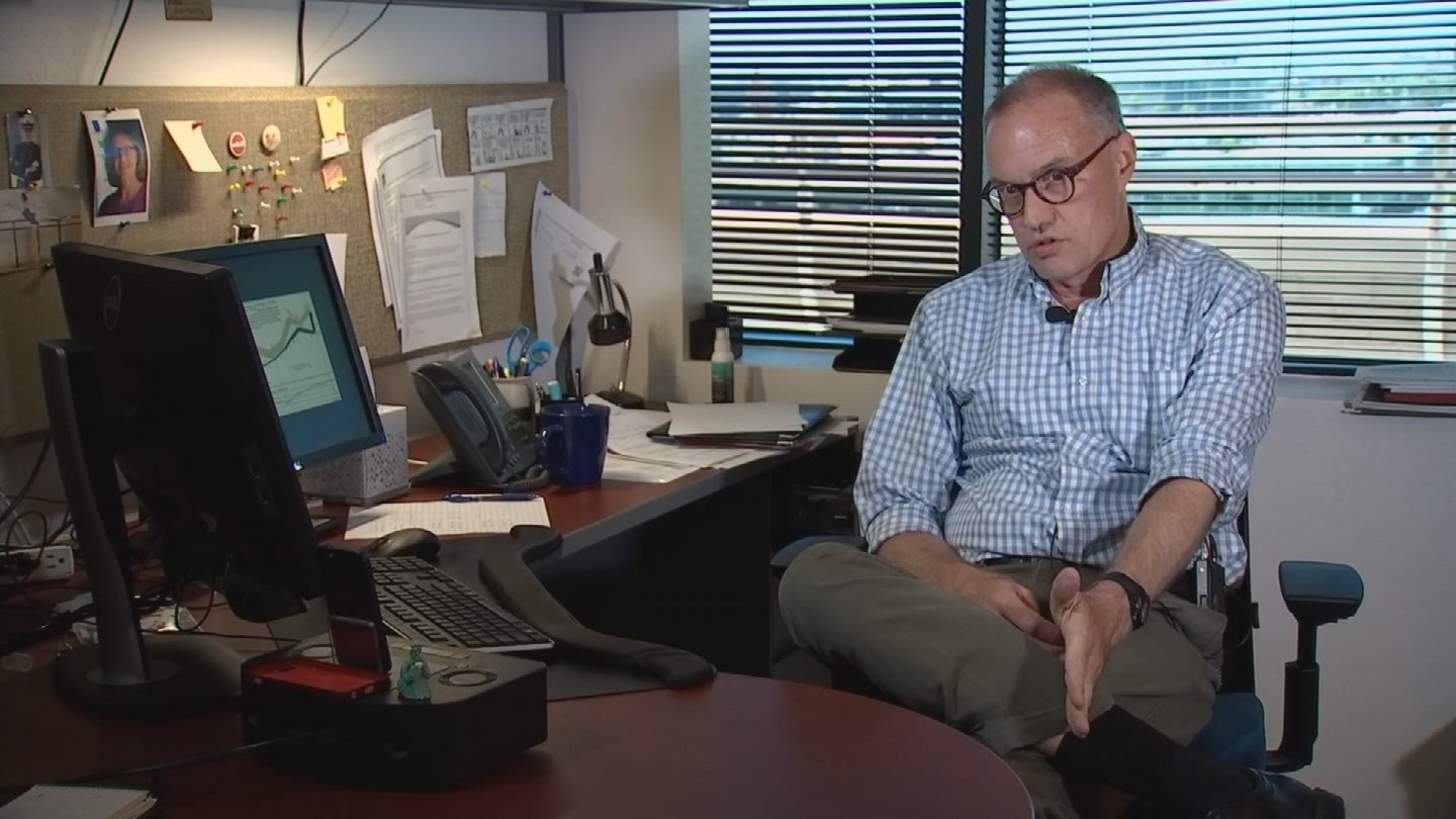Dan Hunting, a policy adviser at the Morrison Institute for Public Policy at Arizona State University, says it'sareflection of decisions Arizona has made over the years. (Source: KPHO/KTVK)