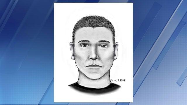 New sketch of serial street shooter (Source: Phoenix Police Dept.)