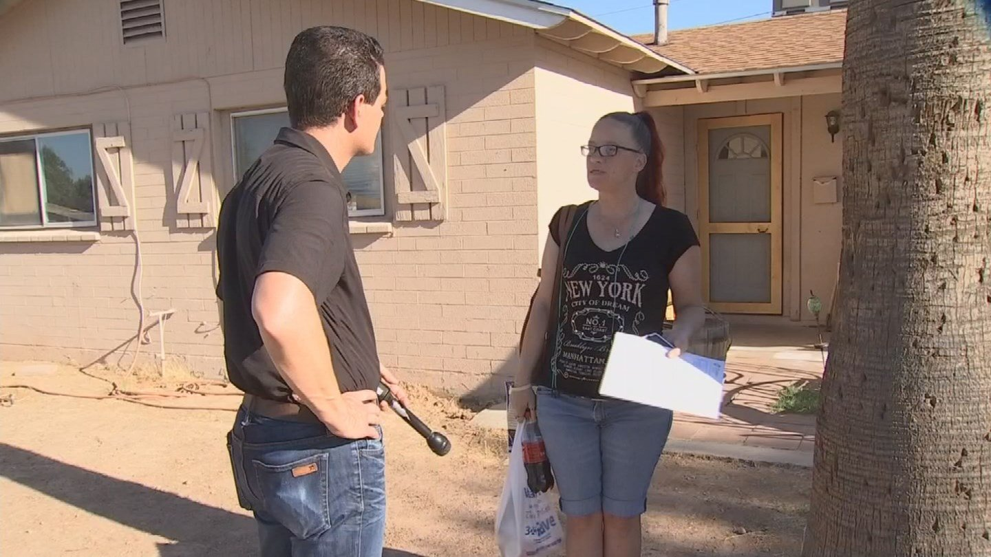 Residents we talked to say they don't go out at night because of the serial killer or killers. (Source: KPHO/KTVK)