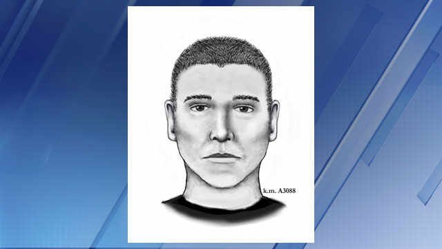 New sketch of serial street shooter (Source: Phoenix Police Dept.)