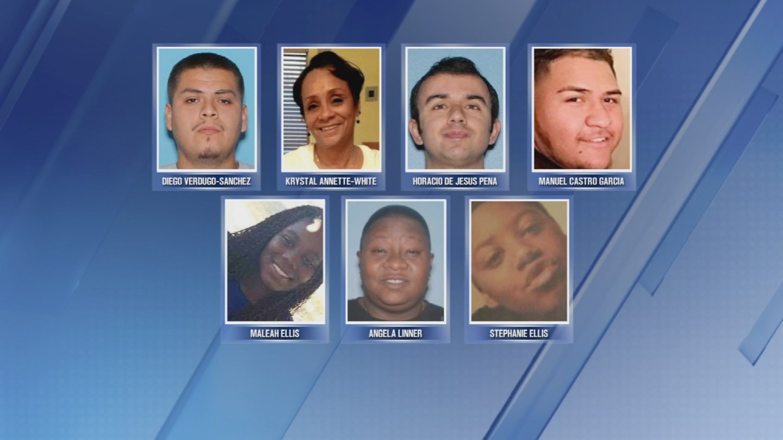 Seven victims in the serial shootings case in Phoenix. (Source: KPHO/KTVK)