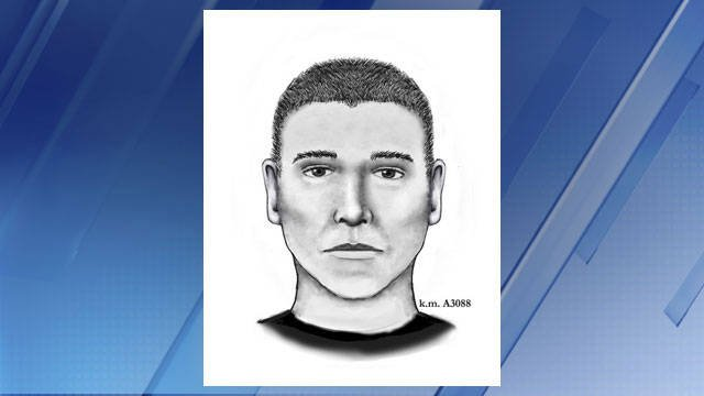 Sketch of serial street shooter (Source: Phoenix Police Dept.)
