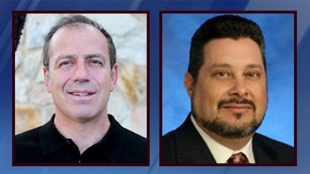 Phoenix City Council members Sal DiCiccio (left_) and Michael Nowakowski. (Source: City of Phoenix)