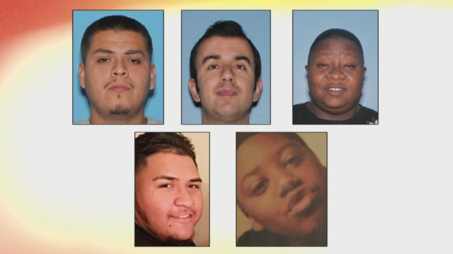 These are five of the six victims in the string of four shootings in Maryvale. (Source: KPHO/KTVK)