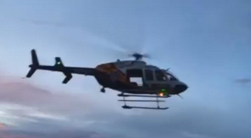 AZ DPS Air Rescue Helicopter recovers body of a 17-year-old hiker struck by lightning (Source: Coconino County Sheriff's Office)