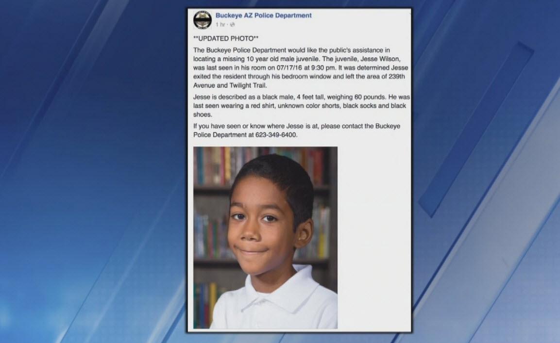 Jesse Wilson has been missing since Sunday night. (Source: KPHO/KTVK)