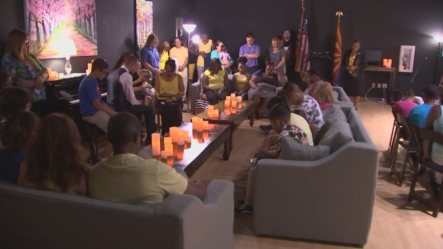 A meeting was held for those who have been searching for a missing Buckeye boy to thank them for their efforts. (Source: KPHO/KTVK)