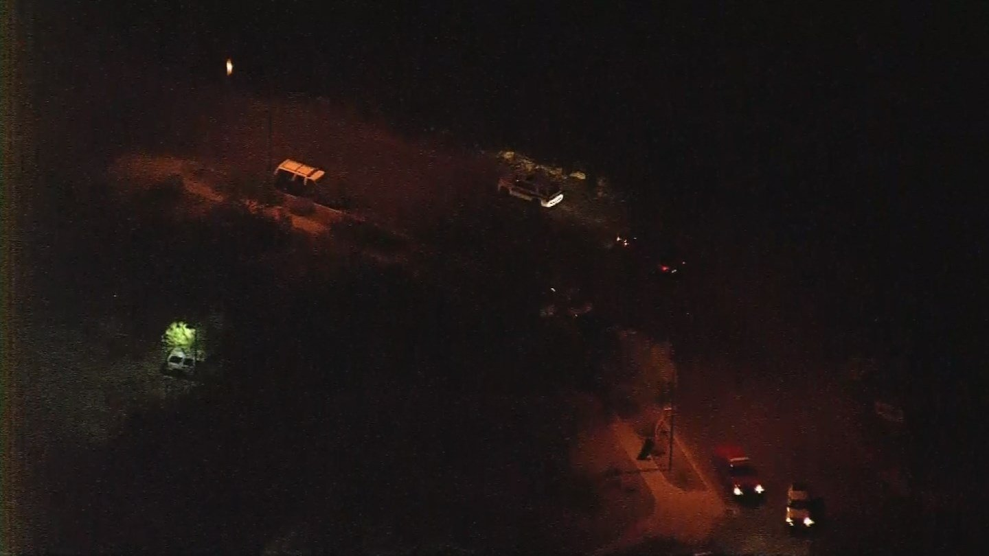 Aerial view of Seventh and Peoria avenues, Phoenix (Source: KPHO/KTVK)