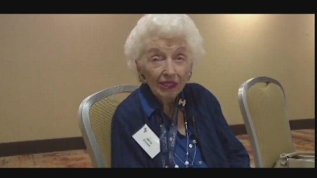 Arizona's oldest delegate speaks