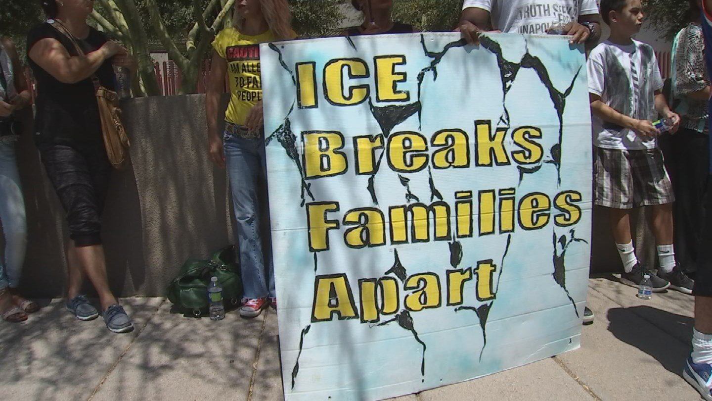 Bernal's family says deporting her would be cruel. (Source: KPHO/KTVK)