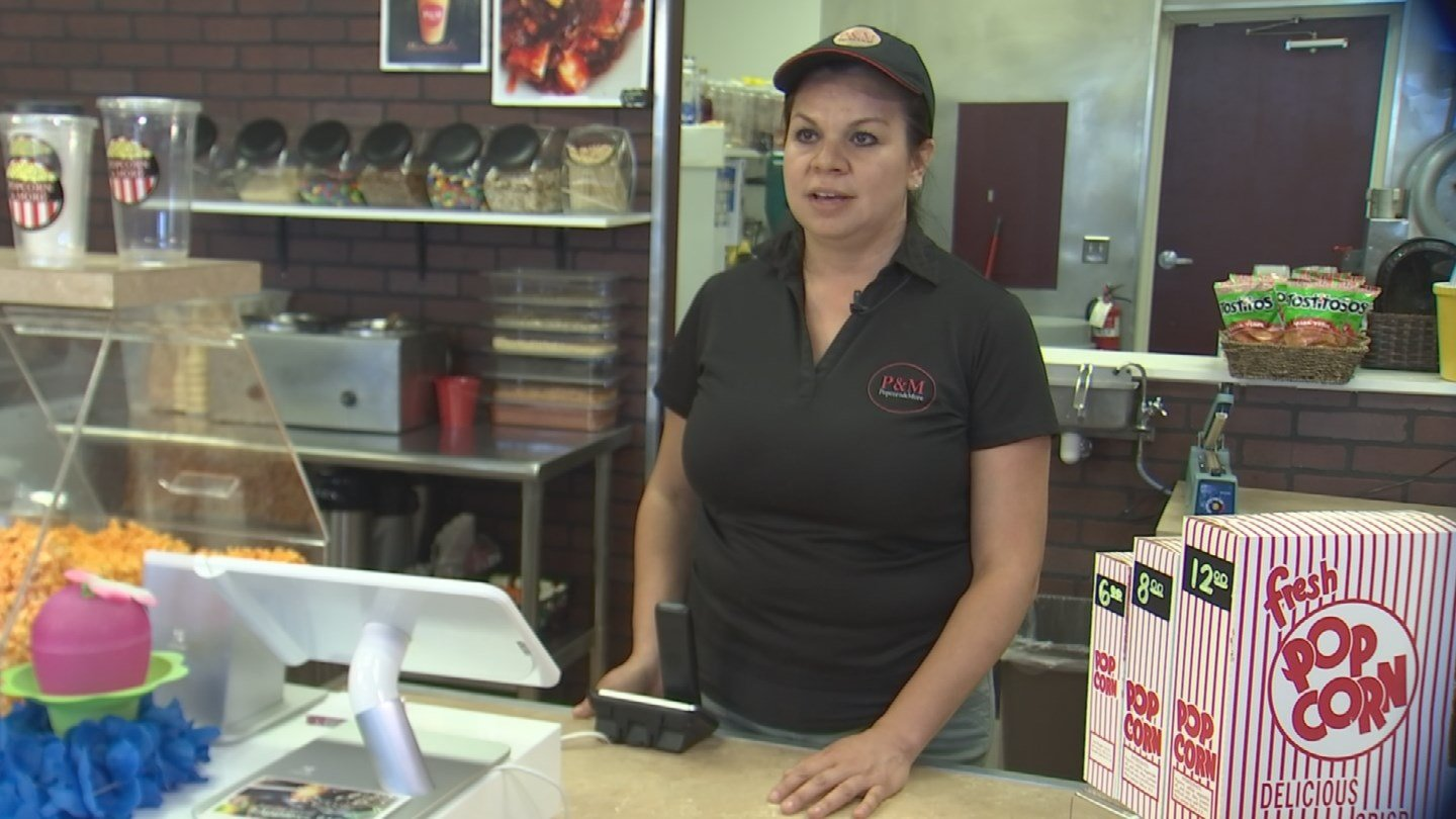 Esther Garcia says Fuerza Local was one of the main ingredients for the success of her Tolleson business. (Source: KPHO/KTVK)