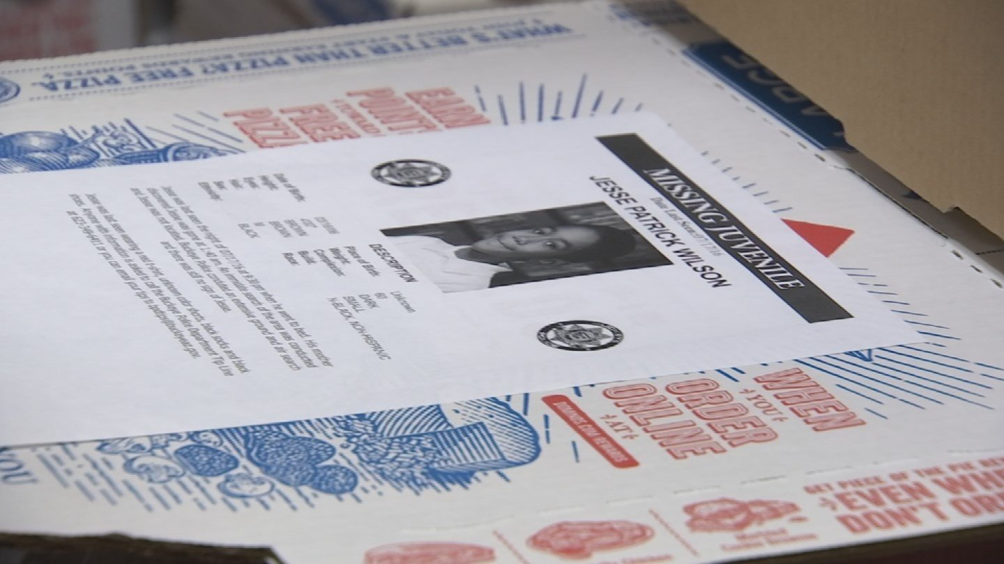 Flyers put on pizza boxes (Source: KPHO/KTVK)