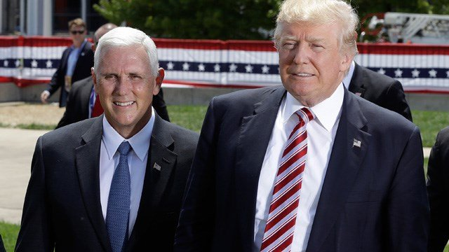 Mike Pence and Donald Trump (Source: AP Photo)