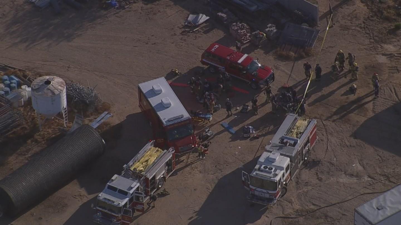 1 dead, 2 critical after underground storage fall in Phoenix