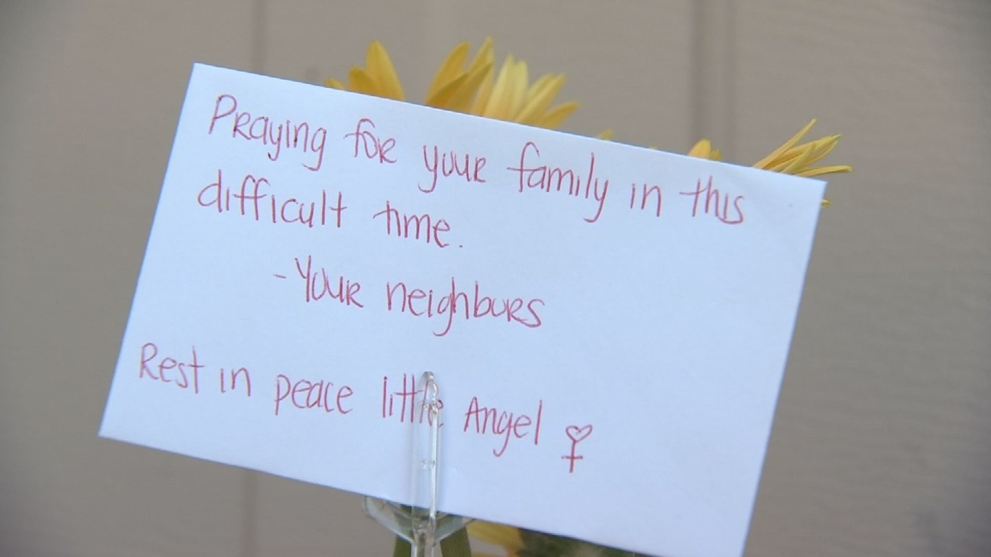 """""""They were pretty shaken up,"""" said Jesse Pileggi who lives down the block, said of the kids. (Source: KPHO/KTVK)"""