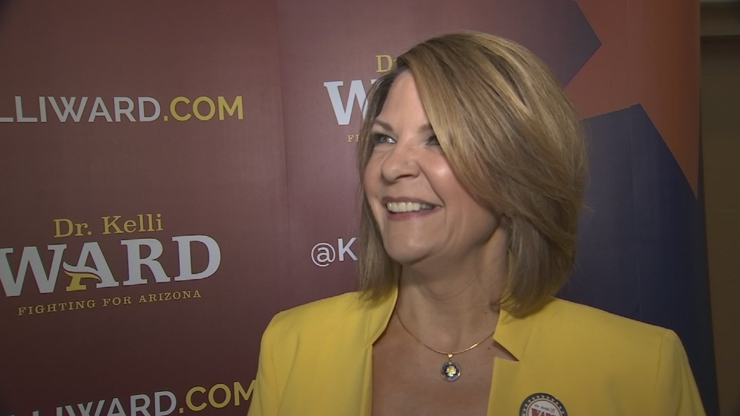 Sen. John McCain's primary opponent, Kelli Ward, recently retweeted a user who made what appears to be numerous anti-Semitic, homophobic and pro-Nazi statements online. (Source: KPHO/KTVK)